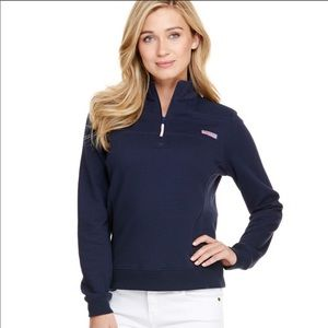 Vineyard Vines 1/4 Zip Navy Pullover Size M